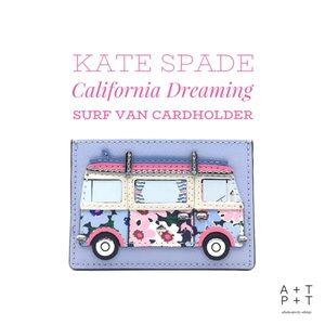 Kate Spade California Dreaming Surf Van Cardholder